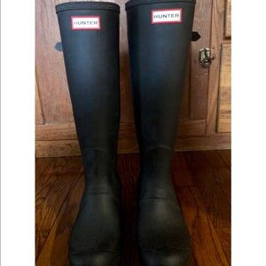 Hunter Women's Original Tall Back Adjustable Boots